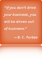 Akins Berry Communications, B. C. Forbes Quote